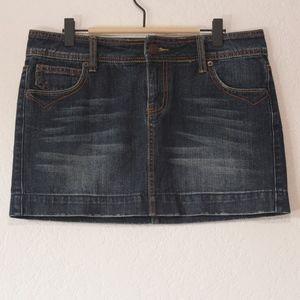 SO Blue Denim Skirt